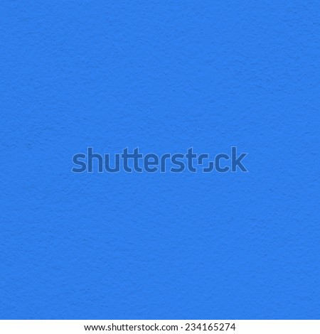 blue wall paint texture - stock photo