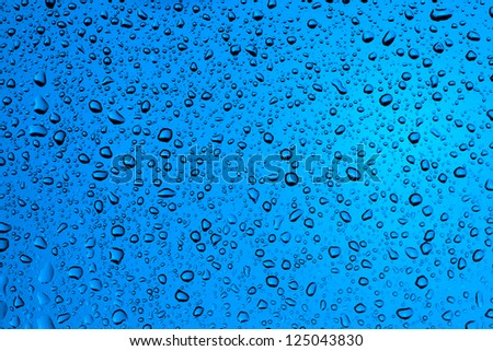 blue water drop back ground