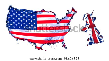 Usa Map Transparent Background Stock Images RoyaltyFree Images - Us map all white red background