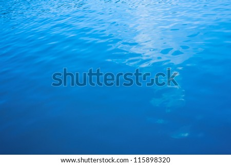 Blue Water - texture