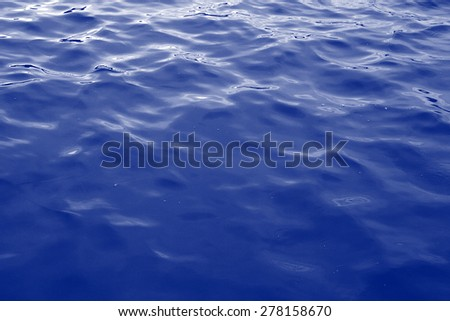 Blue water, texture, background