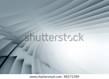 Blue wavy abstract background for various  design