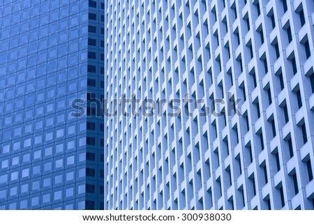 Blue WIndows Texture - stock photo