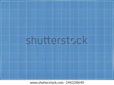 Blueprint background texture. Technical backdrop paper.  - stock photo