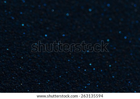 Bluish dark abstract background with glitter - stock photo