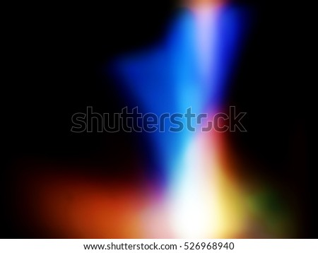 Blur abstract color for background