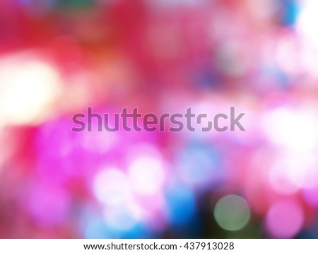 blur abstract colorful background, defocused light, colorful pastel tone - stock photo