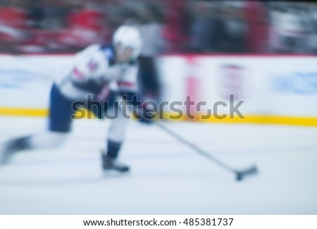 blur background, competition hockey