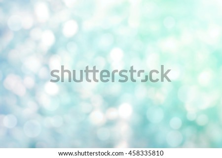 Blur circle bokeh purple green leaf pastel background. Blurry yellow leaves rays light flare nature. Abstract blurred scene for web advertising. Soft focus foliage during summer with sunbeam wallpaper - stock photo