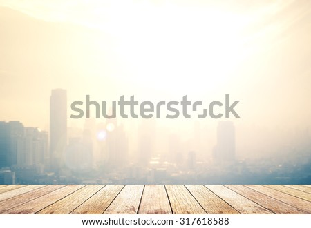 Blur gold big city concept. Aerial Amazing Beauty Warm Light Hotel Resident Industry Market Soft Town Urban Glow Sun Hope Office Nature Night Horizon Planing Capital Backdrop Economy Border Abstract.