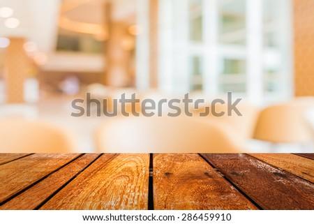 blur image of hospital office room - stock photo