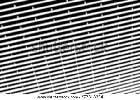Blur image of oriental wall pattern and design used as a background - stock photo