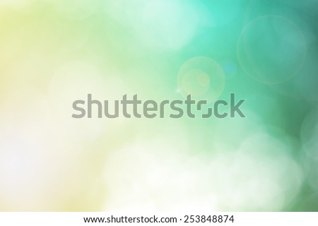 Blur Leaf bokeh background - stock photo