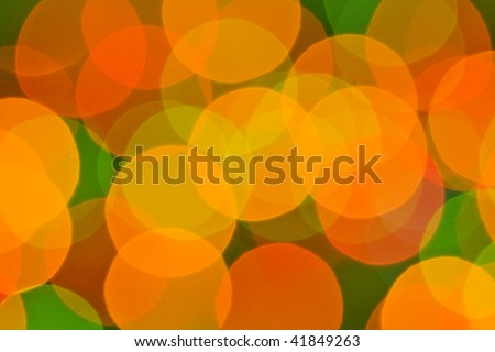 blur lights , defocused background