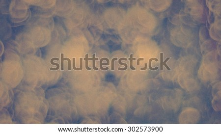 Blur melt,dissolve,crumble,melted,crumbling,crumbly,fuse,fusion  brown bokeh circles defocus circle for  background - stock photo