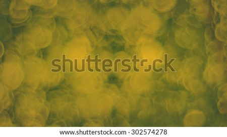 Blur melt,dissolve,crumble,melted,crumbling,crumbly,fuse,fusion   green yellow bokeh circles defocus circle for  background,bokeh leaf green - stock photo