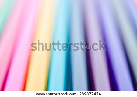 Blur of mixed colorful abstract line for background - stock photo