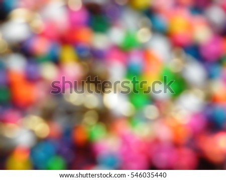 Blur of sparkle background and texture