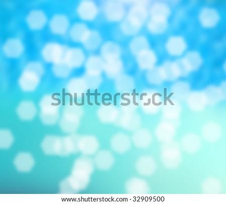 blur of water - stock photo