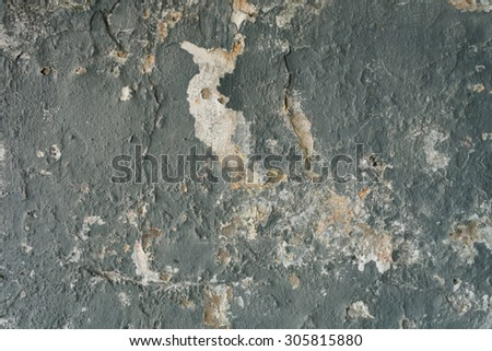 Blur old grunge wall texture background. - stock photo