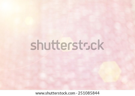 Blur pink Background of Air bubble wrap foil wellcome to valentine day - stock photo