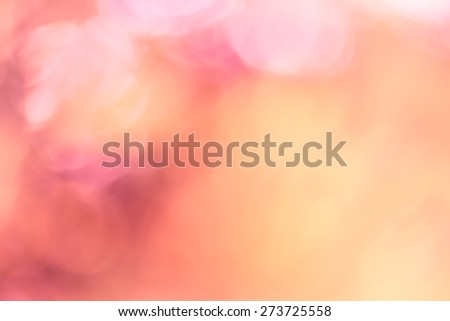Blur pink flower as a background - stock photo