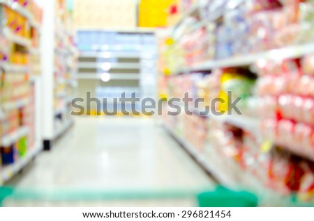 Blur shopping backgrounds - stock photo