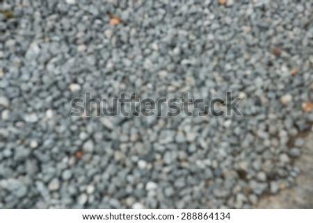 blur stones background - stock photo