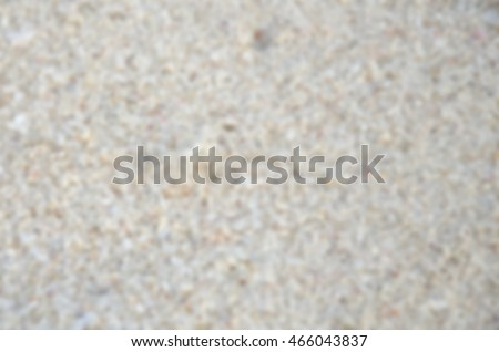Blurred abstract background and can be illustration to article of beach