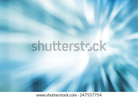 Blurred Abstract background in blue tones. - stock photo