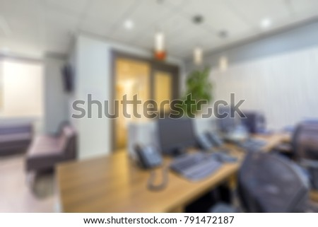 Blurred abstract background reception