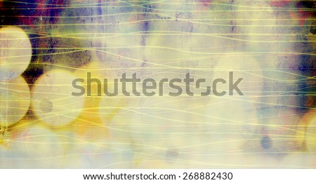 blurred abstract background with bokeh lights - stock photo