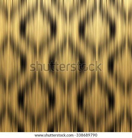 blurred abstract gold background with geometric angles pattern - stock photo