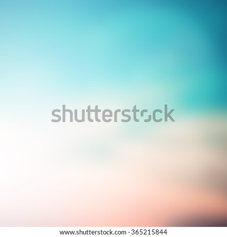 blurred abstract peaceful landscape background of sunrise morning in vintage warm tone:blur tranquility scenic nature sky planet backdrop:serene natural coastline wallpaper:square frame retro display. - stock photo
