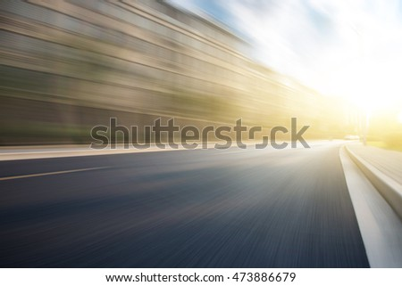 Blurred Asphalt Advertisement Background Stock Photo Image