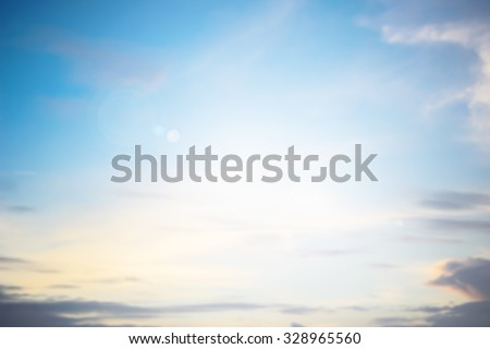 blurred aura heaven sky clouds backgrounds with flare lights.blurry background.blur backdrop concept.cooling pastel color cool tone:abstract colorful wallpaper concept:shiny glowing light ideal image - stock photo