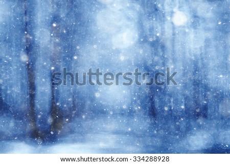 blurred background bokeh nature, unfocused - stock photo