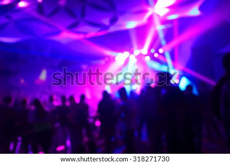 Blurred background,  music concert