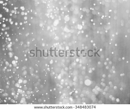 blurred background snow for your design - stock photo