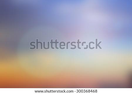 blurred beautiful natural landscape - photo #2