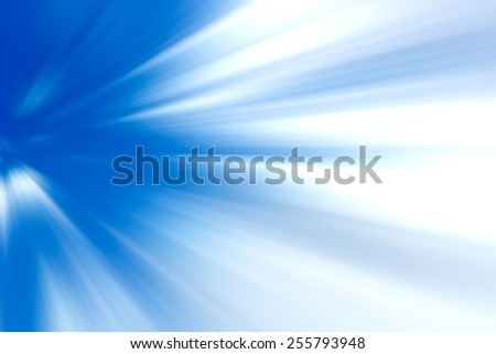 Blurred blue abstract background - stock photo