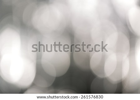 blurred bokeh lights for backgrounds, compositions and overlays - stock photo