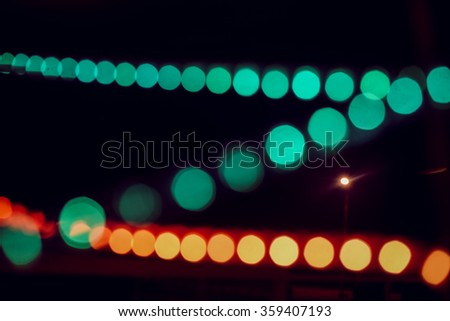 Blurred colorful LED lighting background