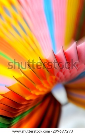 Blurred colourful Paper on background. Abstract colour background - stock photo