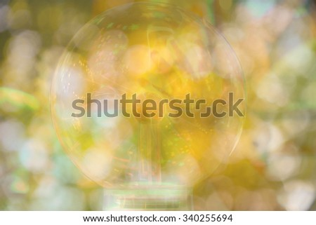 blurred earth science. - stock photo