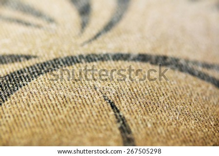 Blurred fabric background texture