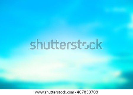 blurred flash aura background with sparkle ray flare light.blurry ideal backdrop concept.pastel cool tone color.colorful of blue vivid gradient image:brightening sunshine day season:holiday vacation. - stock photo