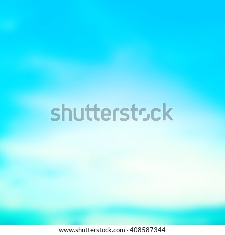 blurred flash aura background with sparkle ray flare light.blurry ideal backdrop concept.pastel cool tone color.colorful of blue vivid gradient image:brightening sunshine day holiday vacation.square - stock photo