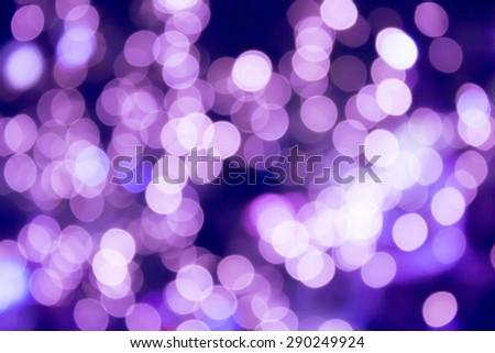 Blurred lights - stock photo