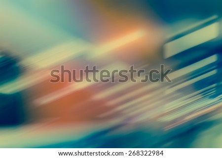 BLURRED LIGHTS BACKGROUND - stock photo